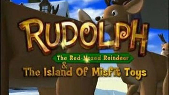Оленёнок Рудольф 2 Остров потерянных игрушек - США 2001 г