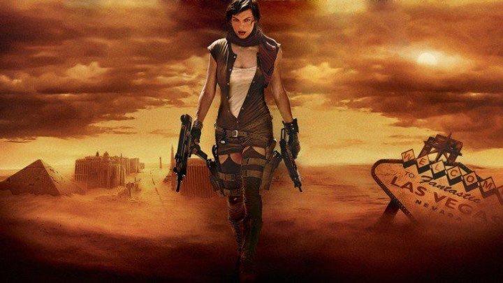 Обитель зла 3 (2007) ужасы, фантастика, боевик, триллер