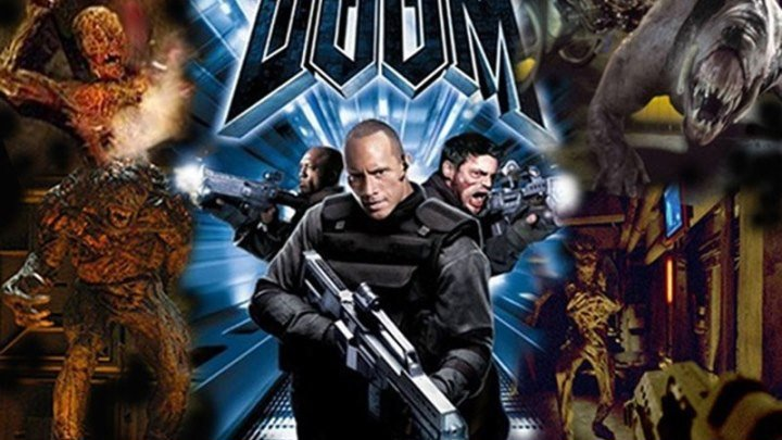 Дум HD(Ужасы, Фантастика, Боевик, Триллер, Приключения)2005