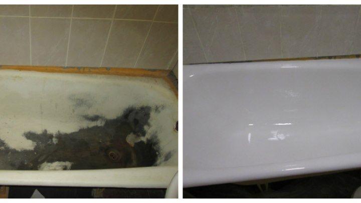 Репортаж про реставрацию ванн в Беларуси от компании 'Доктор ванн' - Телеканал 'Сфера'