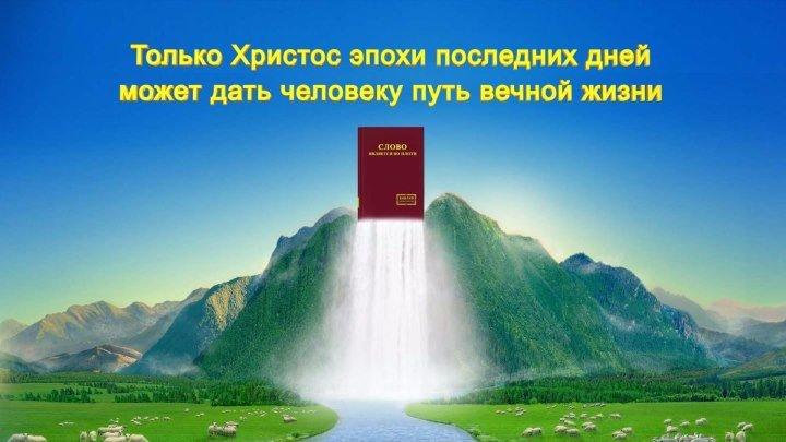 Только Христос эпохи последних дней может дать человеку путь вечной жизни