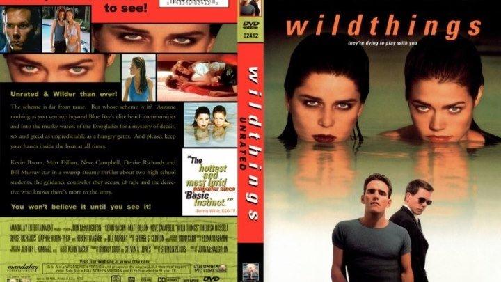 Дикость//Дикие штучки HD(1998) 1080p.Триллер,Драма,Криминал