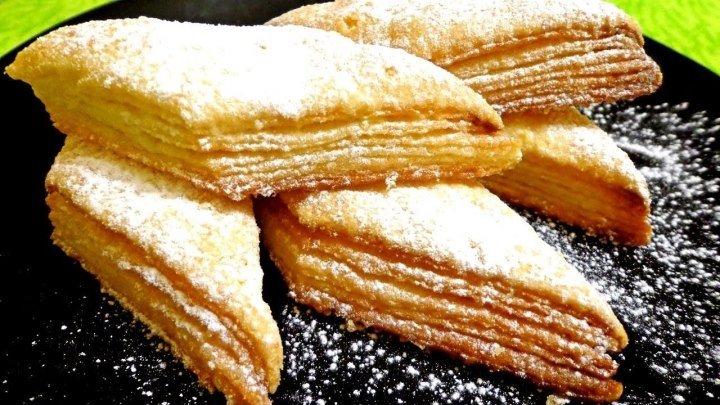 """Супер простой рецепт! Печенье """"Наполеончики"""""""