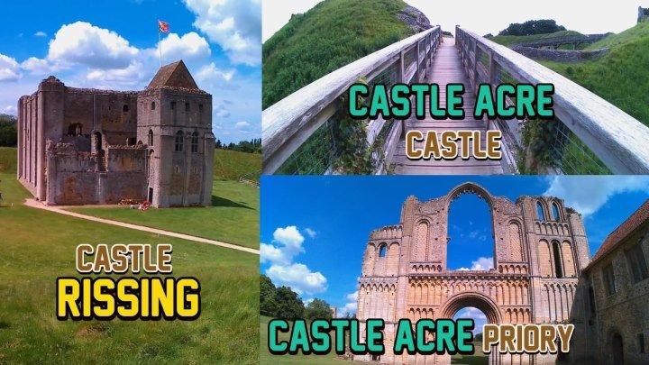 Замок Райзинг,Замок Касл-Акр,Mонастырь Касл-Акр(Великобритания)