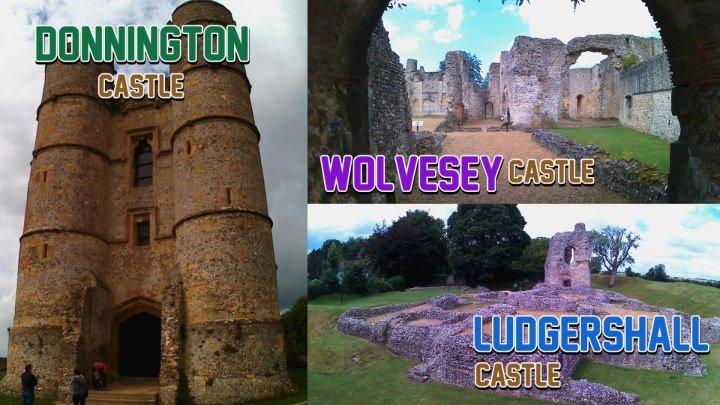 Замок Доннингтон,Замок Людгершел,Замок Вулвси(Великобритания)