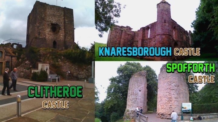 Замок Клидеро,Замок Споффорт,Замок Нэрсборо(Великобритания)