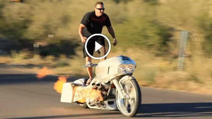 Крутой мотоцикл!