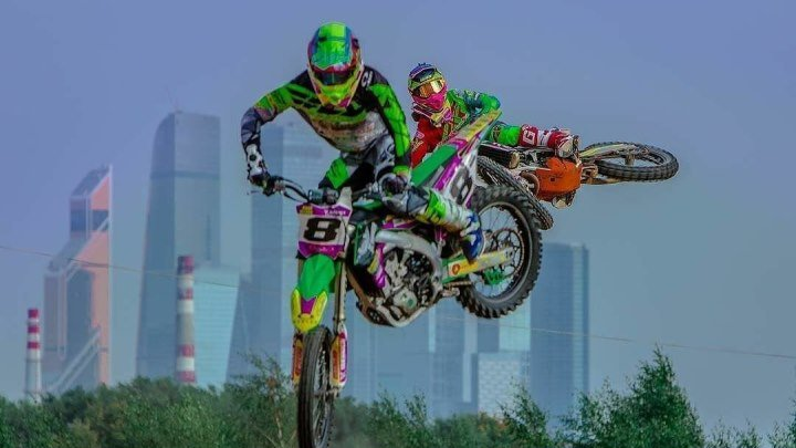 Motocross day with Atryom and Maxim Nazarov