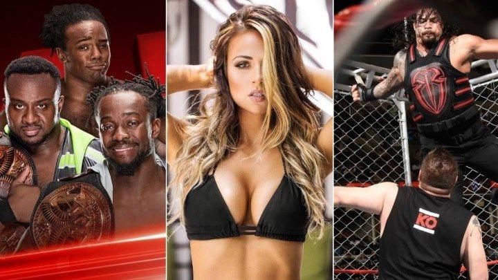 JANGA QIZIQADIGANLAR UCHUN MAXSUS WWE .2017 HD