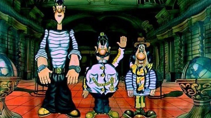 Приключения капитана Врунгеля, серии 01-13 СССР мультфильм, музыка, приключения