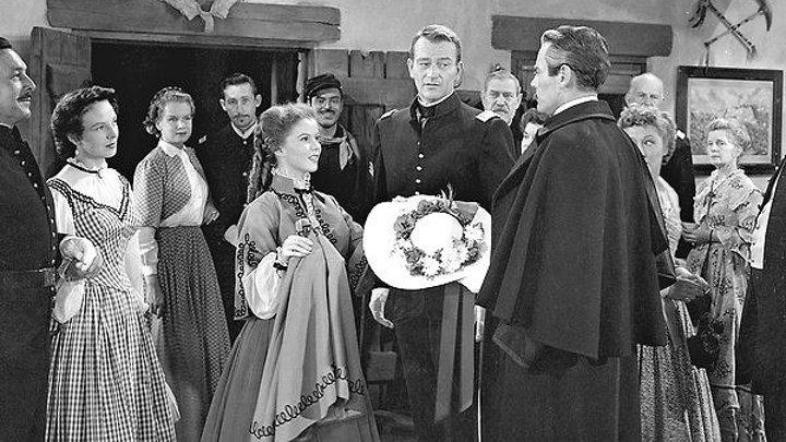Fort Apache 1949 - John Wayne, Henry Fonda, Shirley Temple, Ward Bond, Victor McLaglen, John Agar, Anna Lee, Irene Rich