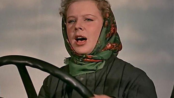 Посеяли девушки лен (Владимир Корш-Саблин) 1956, драма, мелодрама*