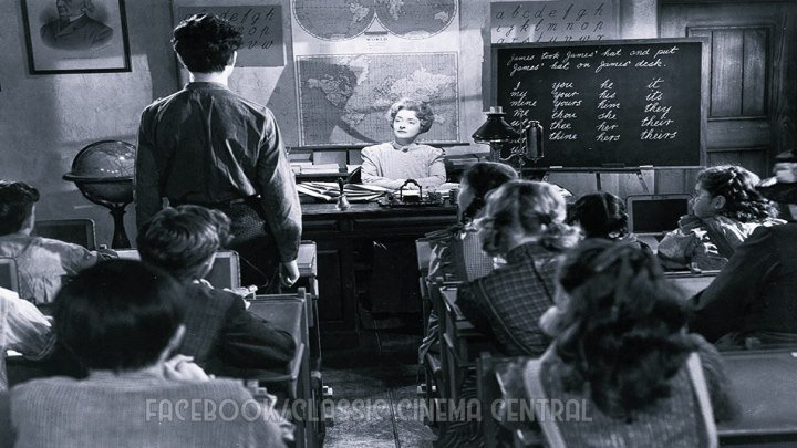 The Corn Is Green (1945) Bette Davis, John Dall, Nigel Bruce