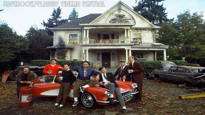 Animal House (1978) John Belushi, Karen Allen, Tom Hulce, Kevin Bacon, Tim Matheson, Stephen Furst