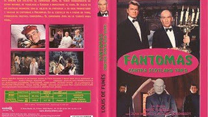 Фильм ФAHTOMAC -3 (1967) Комедия,Криминал,Приключения_Франция,Италия