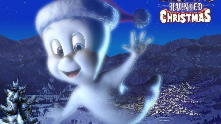 Каспер. Рождество призраков (2000) Зарубежные мультфильмы, Семейный, Ужасы, Фэнтези