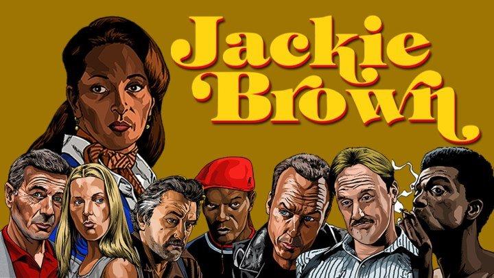 Джеки Браун (1997 HD) 16+ Триллер, Драма, Криминал _ Реж.: Квентин Тарантино