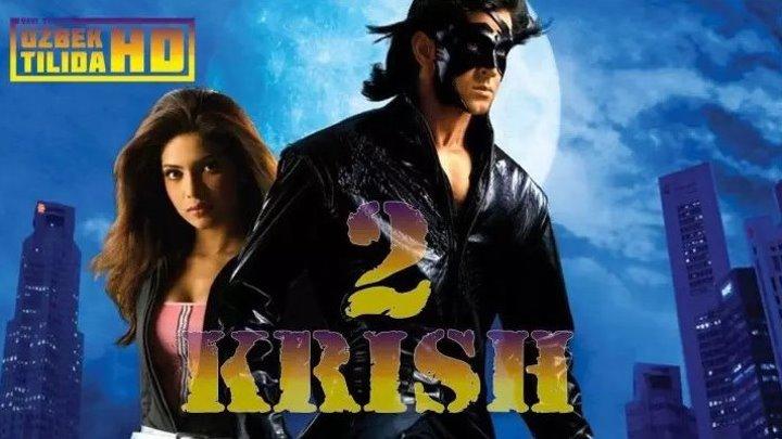 Biz Yolgiz Emasmiz _ KRISH-2 (uzbek tilida hind kino)HD