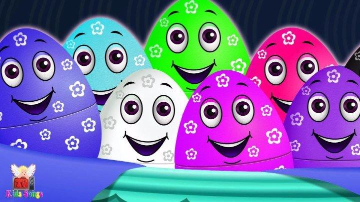 Surprise Eggs Cake Pop Nursery Rhymes - Eggs Cake Pop Finger Family - KidsSongsTV Surprise For Kids
