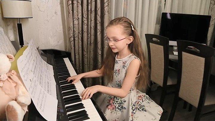 К Юбилею Муслима Магомаева - Синяя вечность - Виктория Старикова - 9 лет