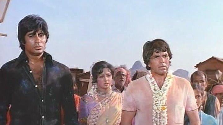 """Индийский фильм - """"Месть и закон"""" (1975)"""