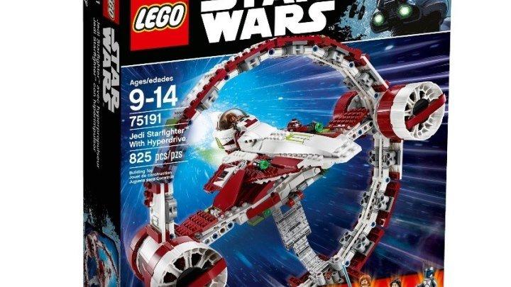 Новый ЛЕГО Звёздный истребитель джедаев 75191 Обзор LEGO Star Wars набора