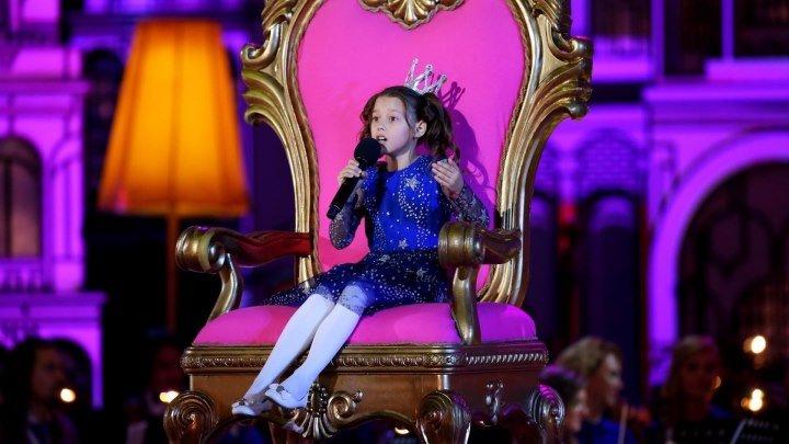 «Я птицею ввысь улечу!». Маленькая принцесса из села Озерки покорила всех!