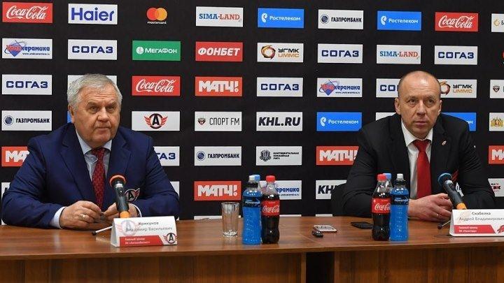 """9 декабря 2017. """"Автомобилист"""" - """"Авангард"""" 3 - 2. Послематчевая пресс-конференция."""