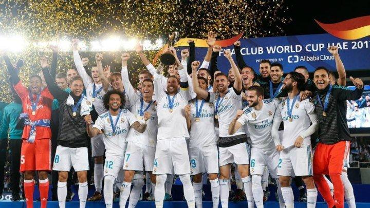 """КЎЖЧ 2017 ғолиби, """"Реал Мадрид"""" жамоасини тақдирлаш маросими."""