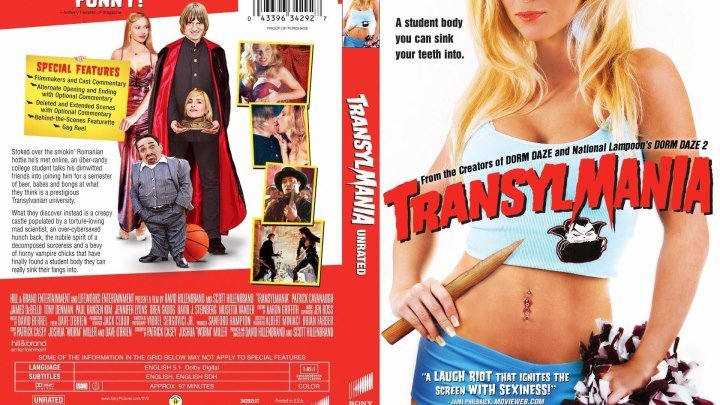 Трансильмания (2009)Ужасы, Комедия. США.