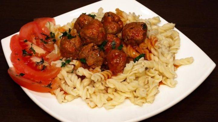 Фрикадельки в томатном соусе в мультиварке, рецепт фрикаделек с томатным соусом. Рецепты для мультиварки. Мультиварка