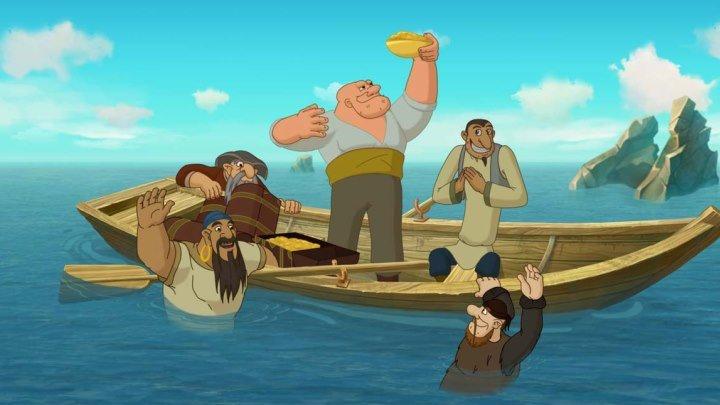 Три богатыря и Морской царь Мультфильм, 2016 HD