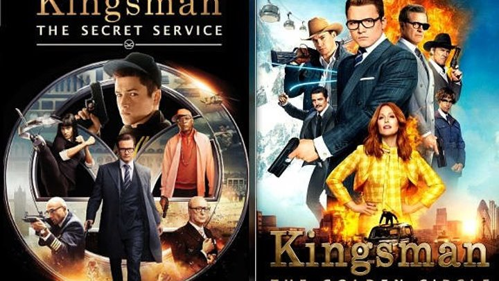 Kingsman 1+2 Türkçe Dublaj Single Video (Gizli Servis 2014 + Altın Çember 2017) Single Video