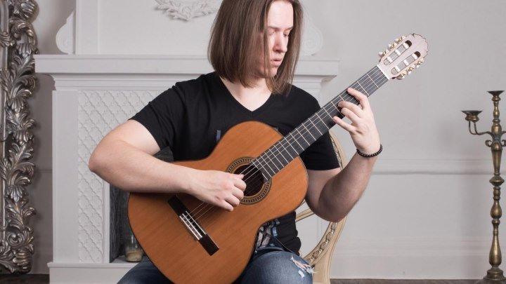 Урок игры на гитаре для подписчиков группы Музыка Клипы и Хорошее настроение