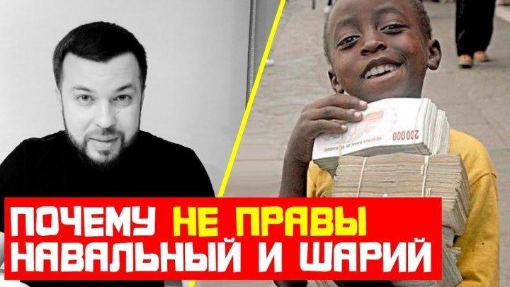 Почему не правы Навальный и Шарий. Поймёт даже ребёнок