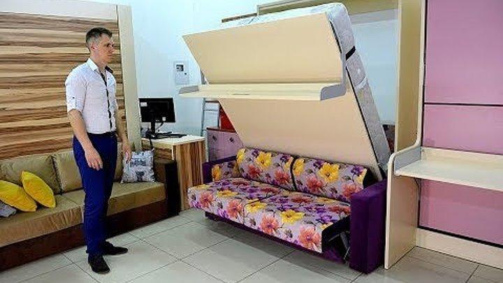 Диван трансформер в двухъярусную кровать 👍 Итальянская компания Pozzi
