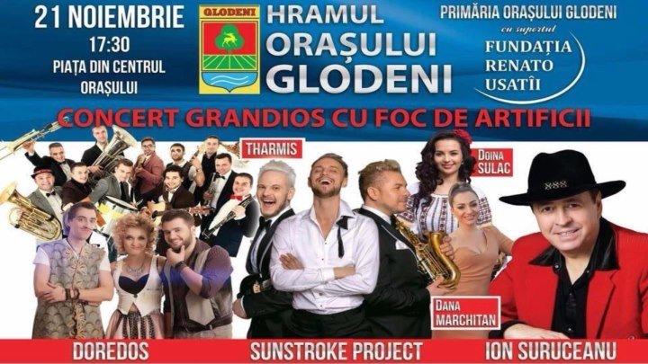 Концерт, организованный Фондом «Ренато Усатый» по случаю Дня города Глодян