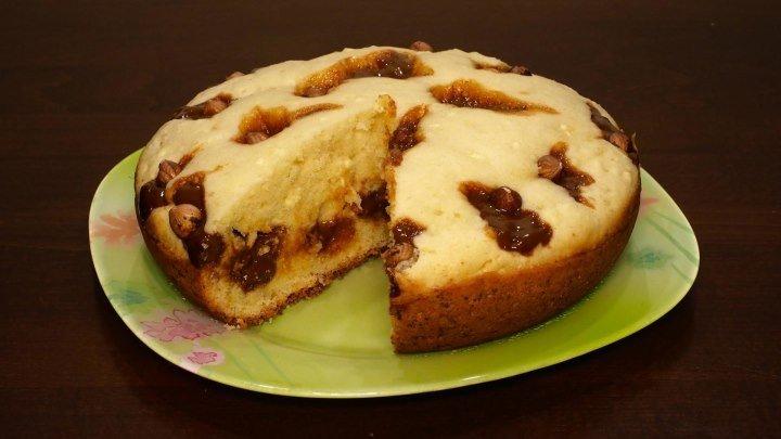 Пирог с творогом в мультиварке, рецепт творожного пирога. Рецепты для мультиварки. Мультиварка. Выпечка