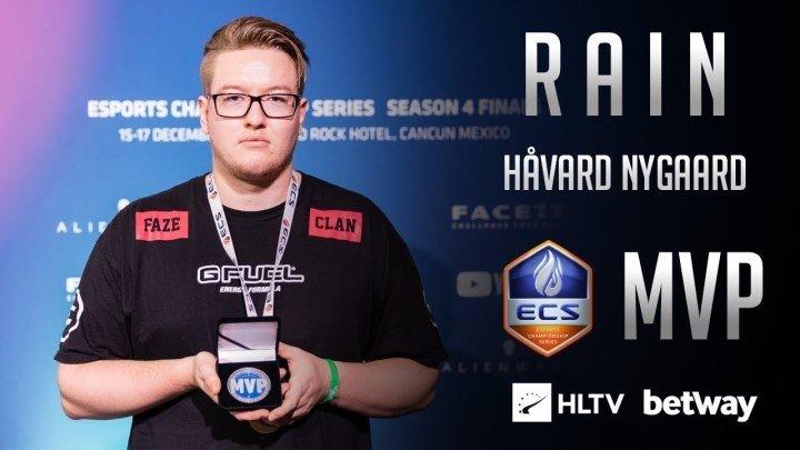 Rain признан лучшим игроком турнира ECS Season 4 по версии HLTV
