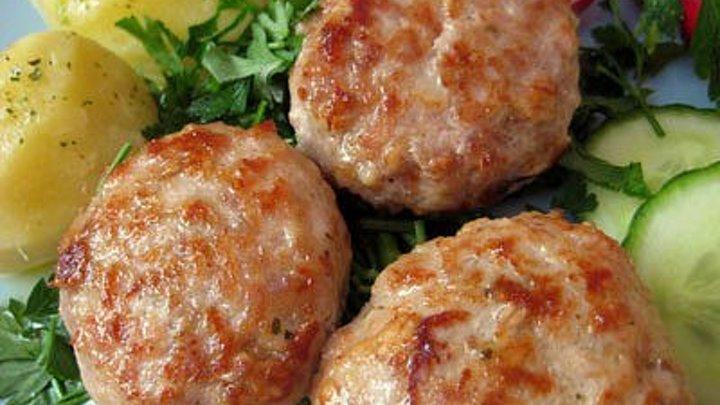 Куриные котлеты «Сочные» - Рецепты от Со Вкусом