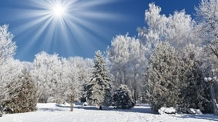 ВОЛШЕБНАЯ МУЗЫКА! Магическая красота зимней сказки!