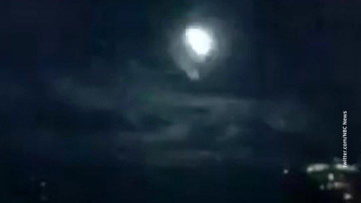 Жители Аризоны сняли видео с падением крупного метеорита