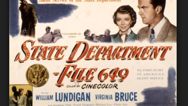 State Department File 649 (1949), Full length classic movie