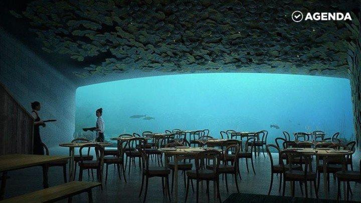 Подводный ресторан