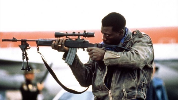Пассажир 57 HD( боевик, триллер, криминал)1992