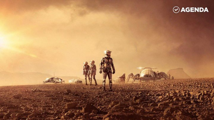 Приложение для прогулок на Марсе