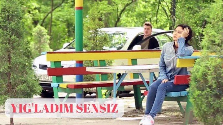 Yig'ladim sensiz / Йиғладим сенсиз 1-Qism (Yangi O'zbek serial 2017)