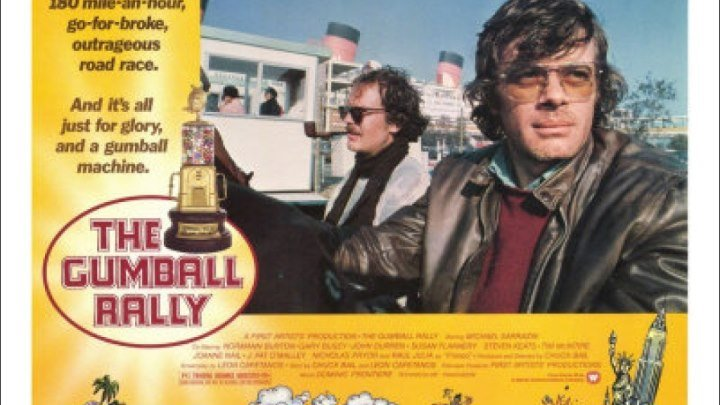 The.Gumball.Rally.1976. Michael Sarrazin, Tim McIntire, Raul Julia, J. Pat O'Malley, Vaughn Taylor, (Eng).