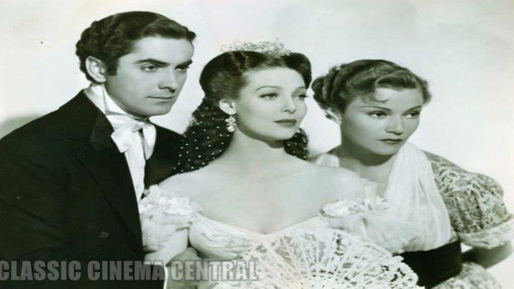 Suez (1938) Tyrone Power, Loretta Young, Annabella