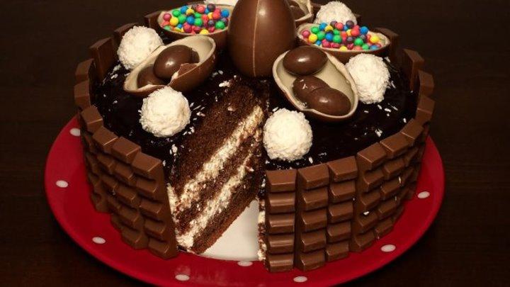Огромный Торт Киндер Делис в мультиварке, рецепт вкуснейшего торта Kinder Delice. Рецепты для мультиварки. Мультиварка